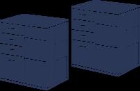 整理タンス(大×2)